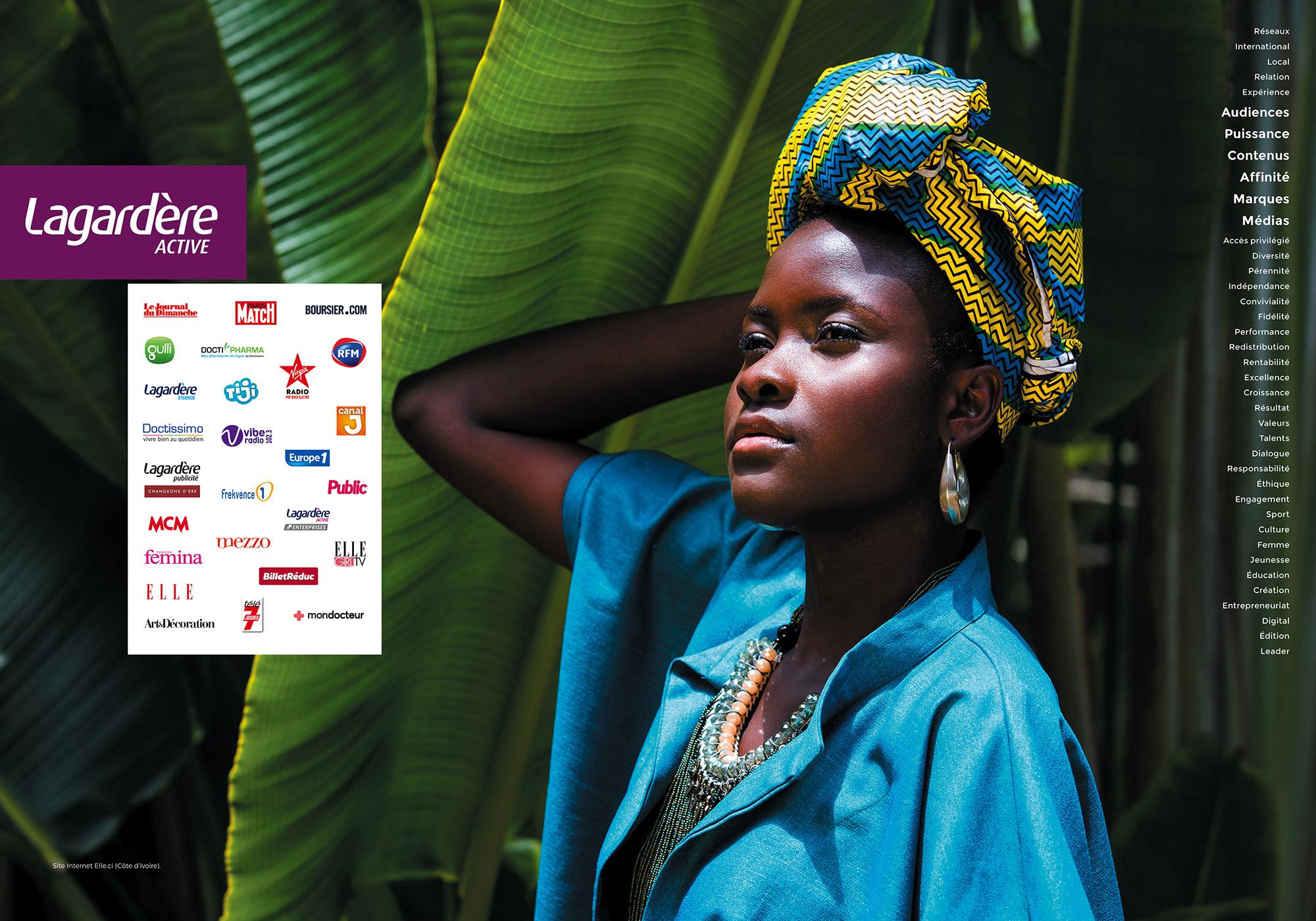 Lagardère Active - Site Internet Elle.ci (Côte d'Ivoire)