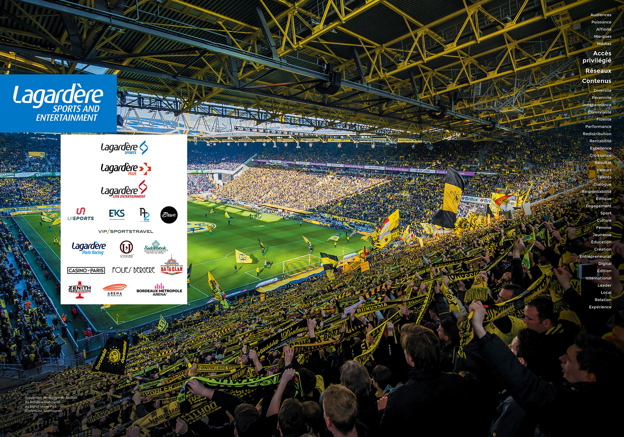 Lagardère Sports and Entertainment - Signal Iduna Park