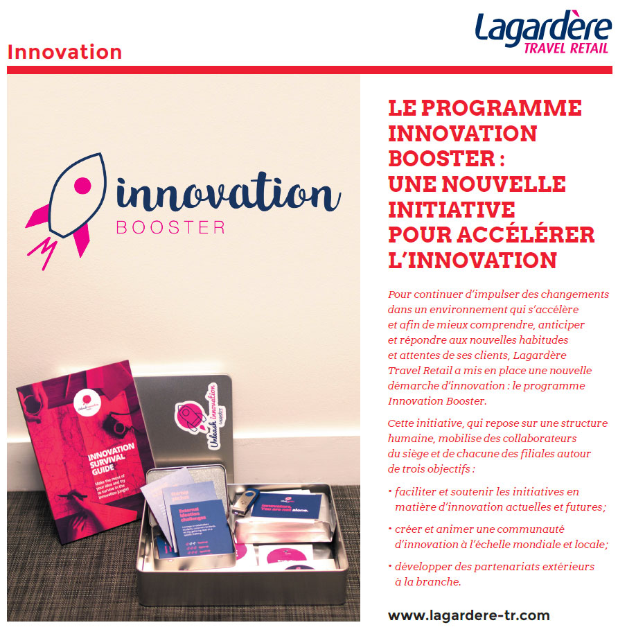 Innovation Lagardère Travel Retail