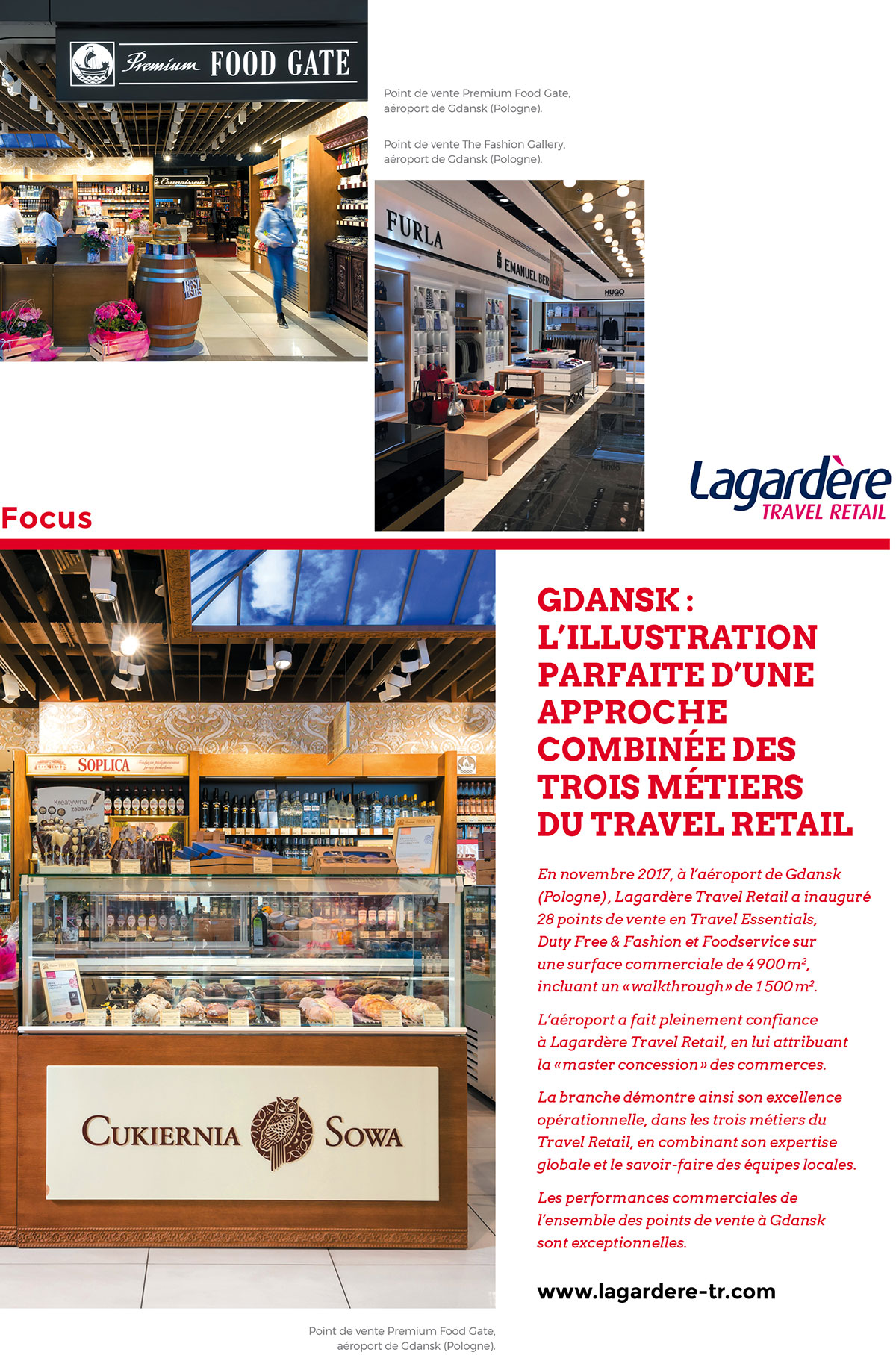 Focus Lagardère Travel Retail