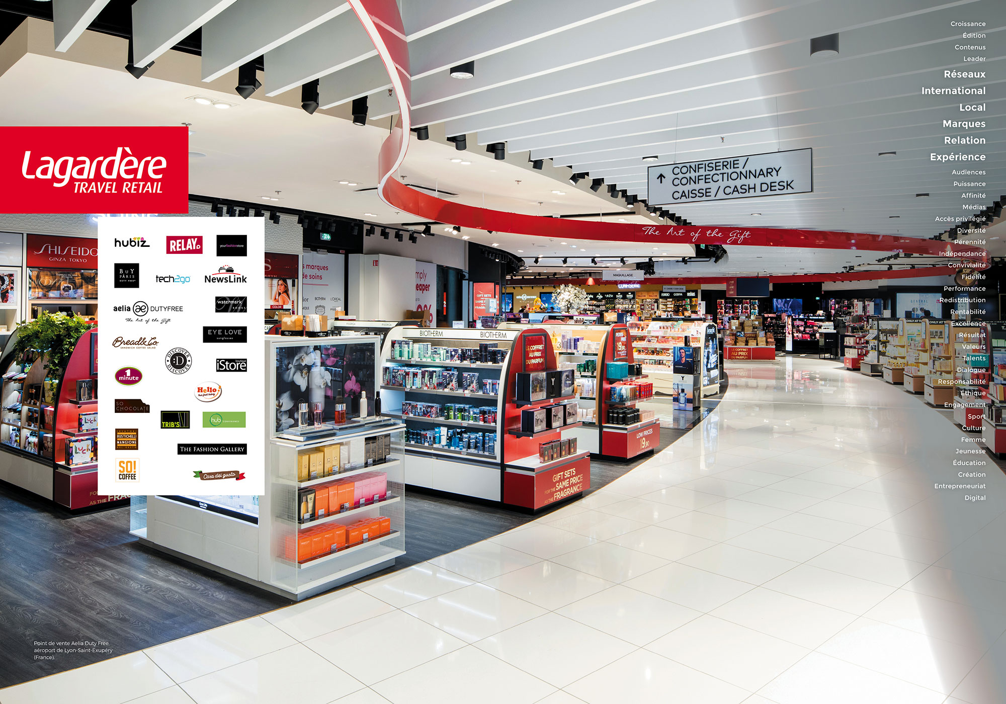 Lagardère Travel Retail - Point de vente Aelia Duty Free