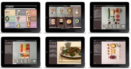 Application cuisine ipad