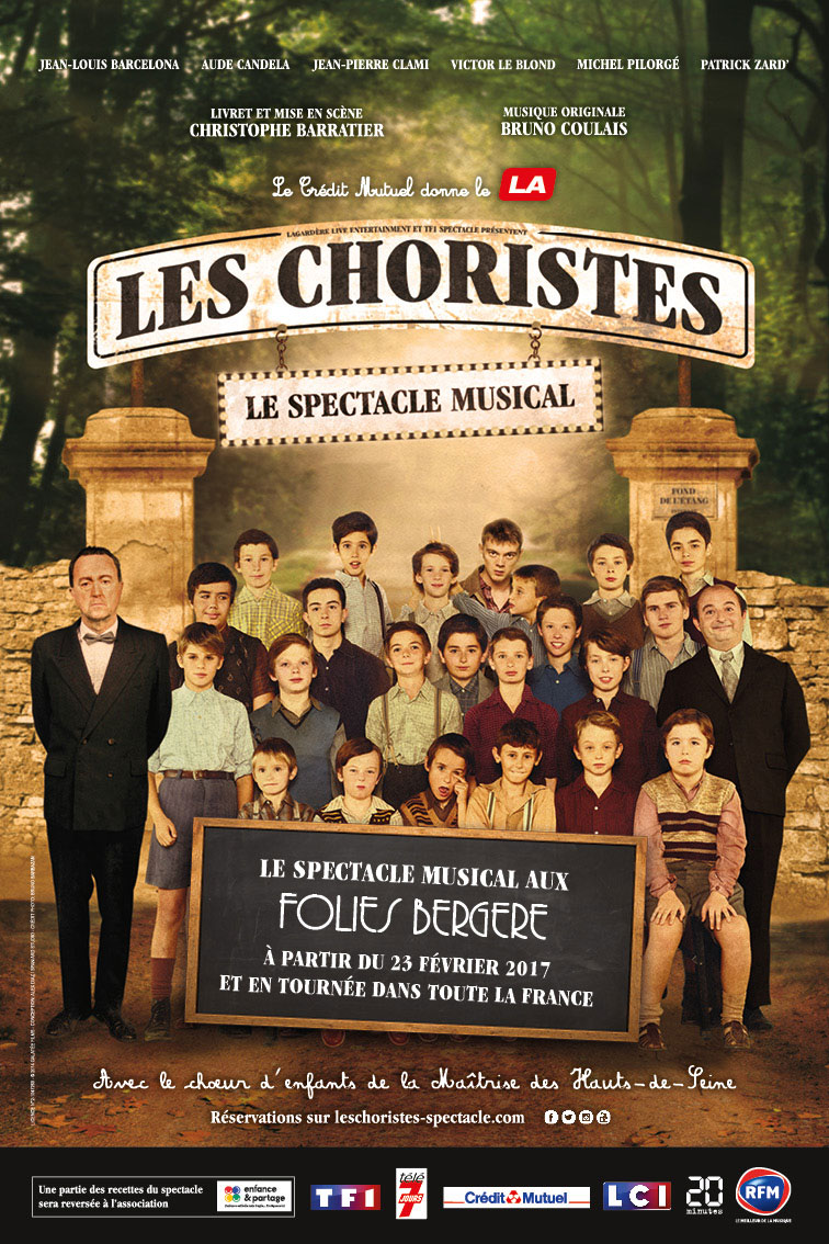 Les Choristes, le spectacle musical